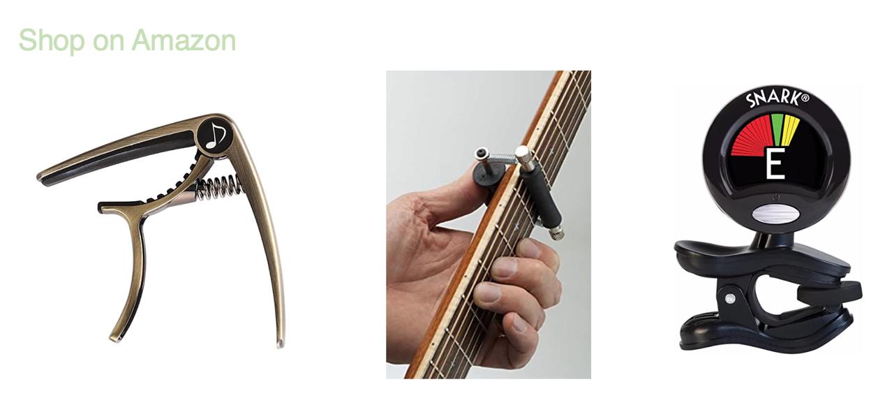 Shop Amazon: Guitar tuners